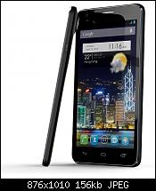 Alcatel One Touch Idol Ultra Front