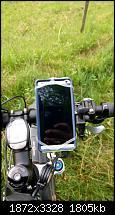 HTC One in Otterbox Commuter mit Finn Halterung