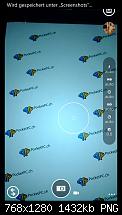 Screenshots der Nokia Cam Pro App