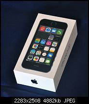 Erste Bilder meines iPhone 5S in Space Grey.
