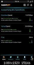 Galaxy S4   LTE Speed