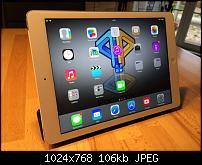 Bilder zum Review des iPad Air von Apple
