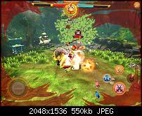 Das Spiel Tiger and Chicken f�r Apples iPad in Bildern.
