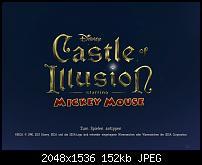 Screenshot der iPad Version von Castle of Illusion: Starring Mickey Mouse für iOS.