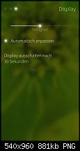 5 Einstellungen Display
