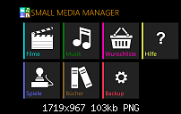 Der Small Media Manager für Windows 8