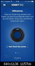 Das Album zur App von Elgatos smart key-App…