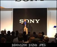 Sony beim diesjährigen MWC 2014 (c) PocketPC.ch
