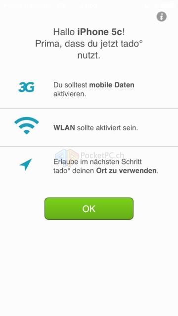 tado - iOS App
