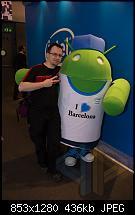 Android liebt Barcelona - und the black dragon