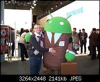 timsah mit dem Business-Android-Männchen