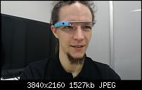 Minneyar mit Google-Glass - leider gab's kein Testsample!