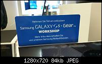 Bilder vom ersten Eindruck des Galaxy S5 von Samsung