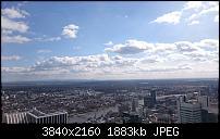 Blick vom MainTower in Frankfurt