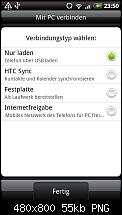 Ganz viele Screenshots zum HTC Desire von PocketPC.ch