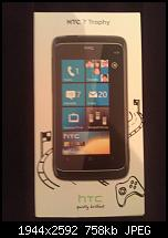 Handy:  HTC Trophy 7
