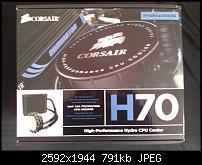 CPU Kühler:  Corsair H70