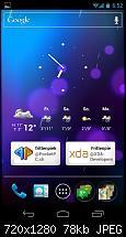 Android 4.0 auf dem Galaxy Nexus