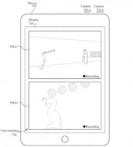 Gleichzeitige Videoaufnahme über beide Linsen der Dualkamera-apple-patent-dual-lens-camera-video-recording-002-452x500.png