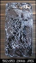 """""""Skydiving iPhone"""" ein iPhone überlebt einen 4000m Sturz aus dem Flugzeug.-iphonekaputt.jpg"""