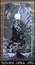 """""""Skydiving iPhone"""" ein iPhone überlebt einen 4000m Sturz aus dem Flugzeug.-iphonekaputt2.jpg"""