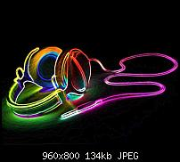 Android Wallpaper Sammlung-colorful-headphones_112.jpg