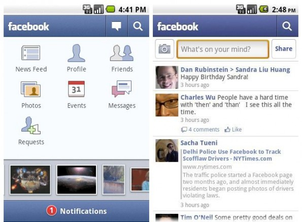 how to turn on chat on facebook android app