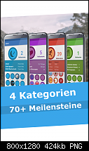 [Android App] Achiever - Fitness Meilensteine-screenshot1.png