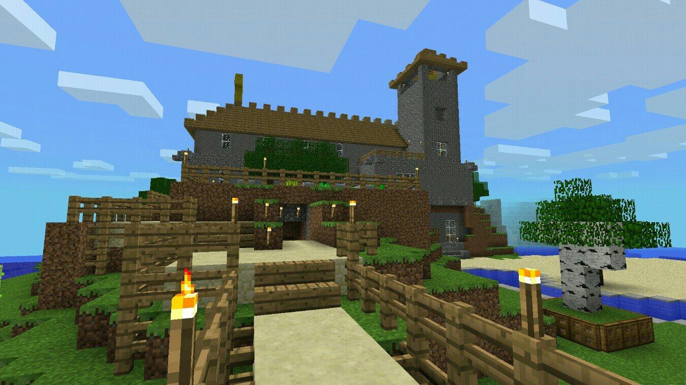 Minecraft Pocket Edition Seite - Minecraft haus aus holz