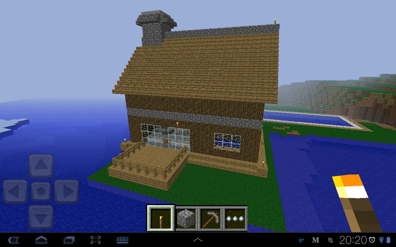 Minecraft Pocket Edition - Minecraft haus bauen kostenlos