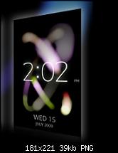Sony Ericsson: Erster Eindruck ihrer Oberfläche-ambienttime-lite.png