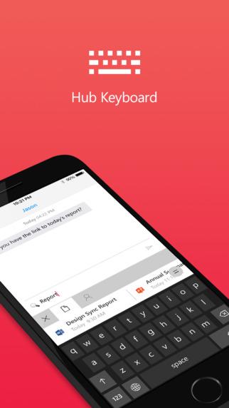 Microsoft veröffentlicht Software-Tastatur für iOS-screen322x572.jpeg