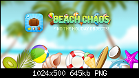[App Vorstellung] Beach Chaos - Finde die Urlaubssachen-promo-image.png