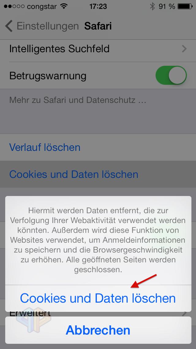 Tutorial: Löschen des Safari-Caches und der Cookies bei einem iOS-Device-image-1.png