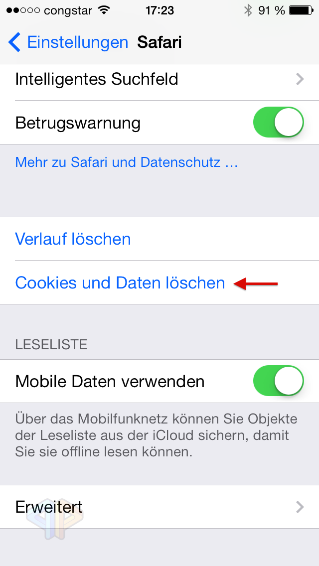 Tutorial: Löschen des Safari-Caches und der Cookies bei einem iOS-Device-image-2.png