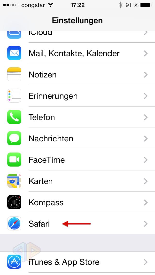 Tutorial: Löschen des Safari-Caches und der Cookies bei einem iOS-Device-image.png