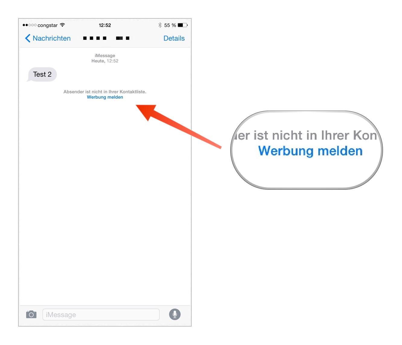 Tutorial: iMessage-Nachrichten als Spam melden-bild-5.png