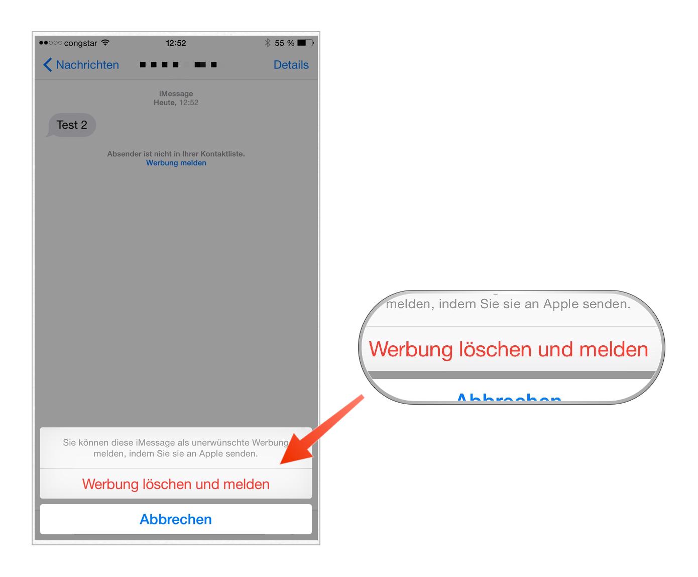 Tutorial: iMessage-Nachrichten als Spam melden-bild-6.png