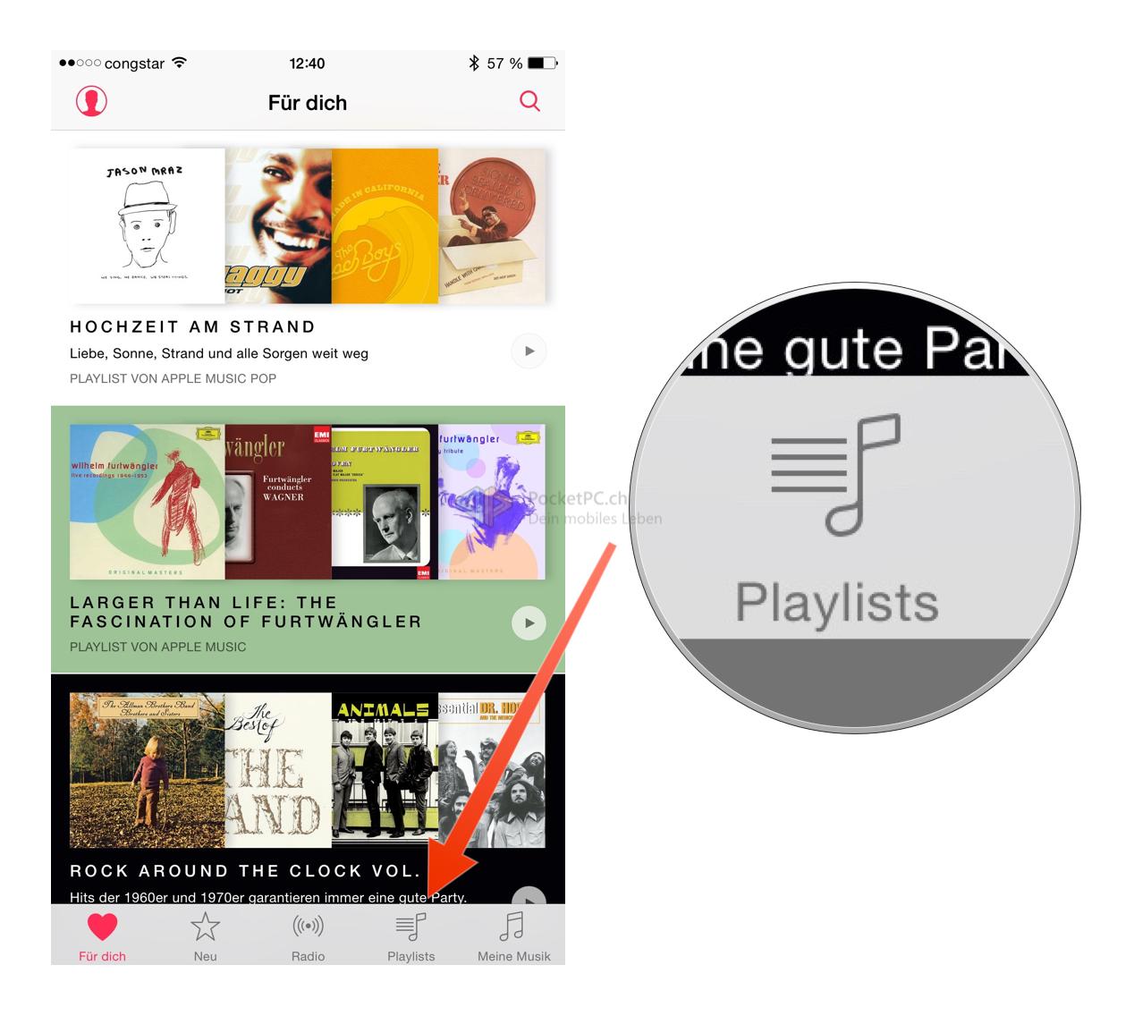 Tutorial: Schnellzugriff auf die Playlisten in Apple Music auf einem iOS-Device-bild-6.png