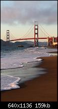 Der iPhone 5C Wallpaper Thread-san-francisco-bridge-beach-iphone-5-wallpaper.jpg