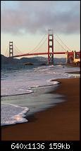 Der iPhone 5C Wallpaper Thread-san-francisco-bridge-beach-iphone-5-wallpaper.jpg