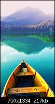 Der iPhone 6 Wallpaper Thread-boat-still-lake-iphone-6-wallpaper.jpg