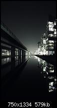 Der iPhone 6 Wallpaper Thread-dark-city-view-beside-lake-landscape-iphone-6-wallpaper-ilikewallpaper_com_750.jpg