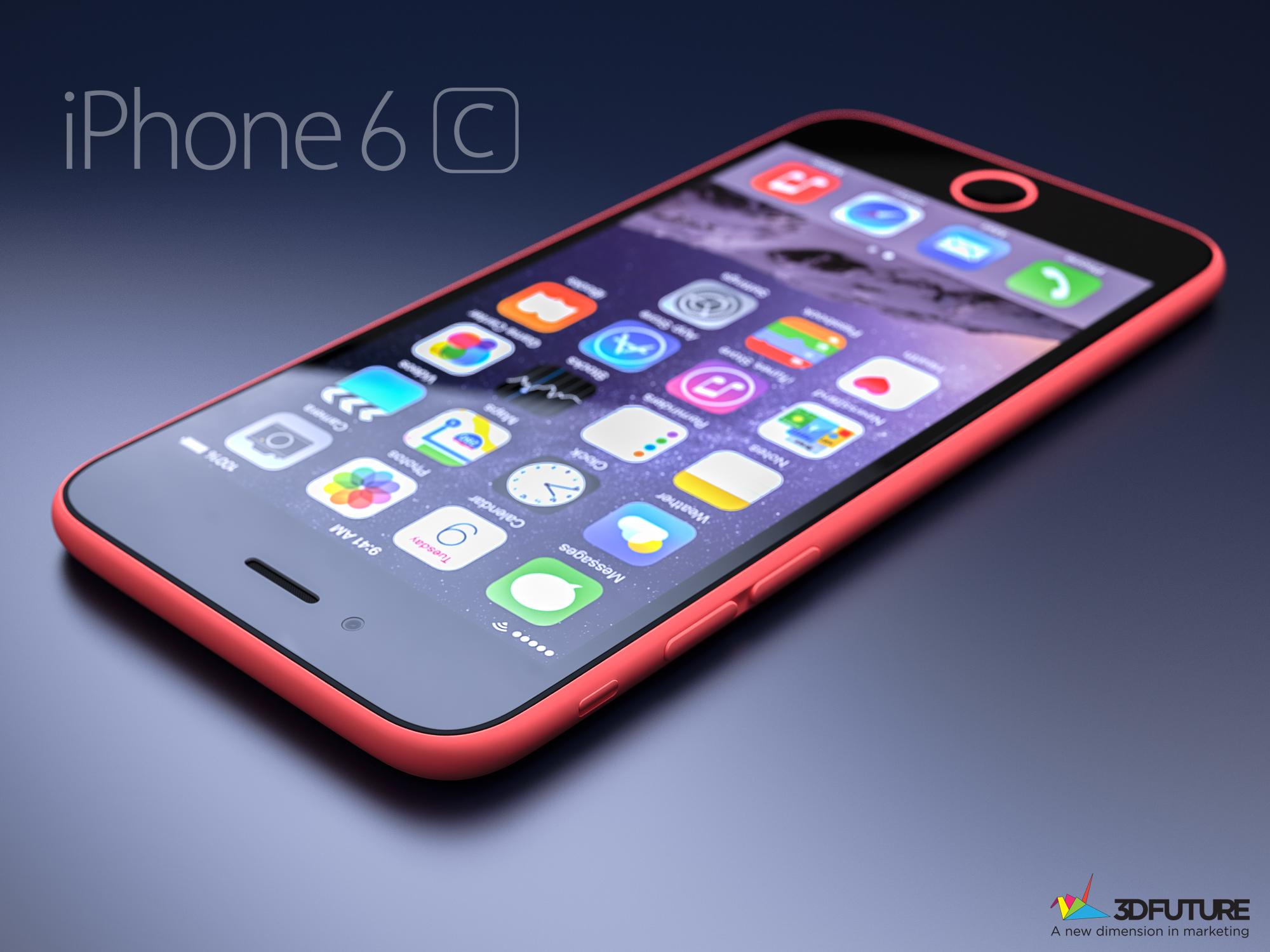 IPhone 6C Konzept Iphone 6c 2015