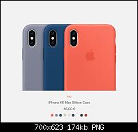 Apple iPhone Xs (Max) - Cases, Hüllen und Folien-xs-max-silikon-case.png