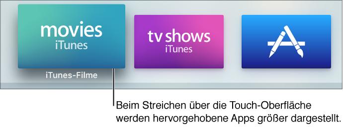 Tipps, Tricks, Siri Remote Abkürzungen etc. zum Apple TV 4. Generation-s0107_appselected.png