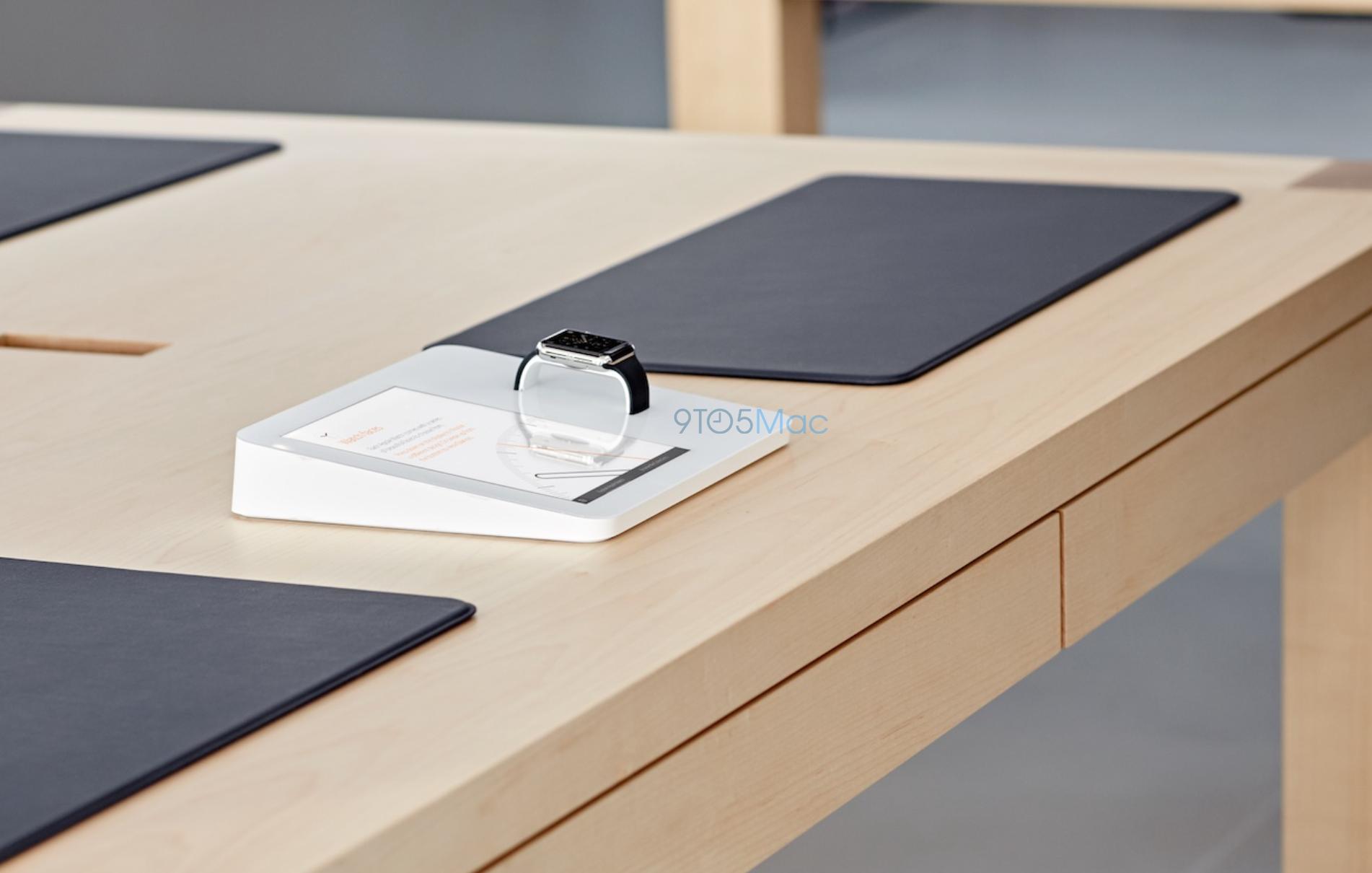 Apple Store Ausstattung F 252 R Apple Watch Geleaked