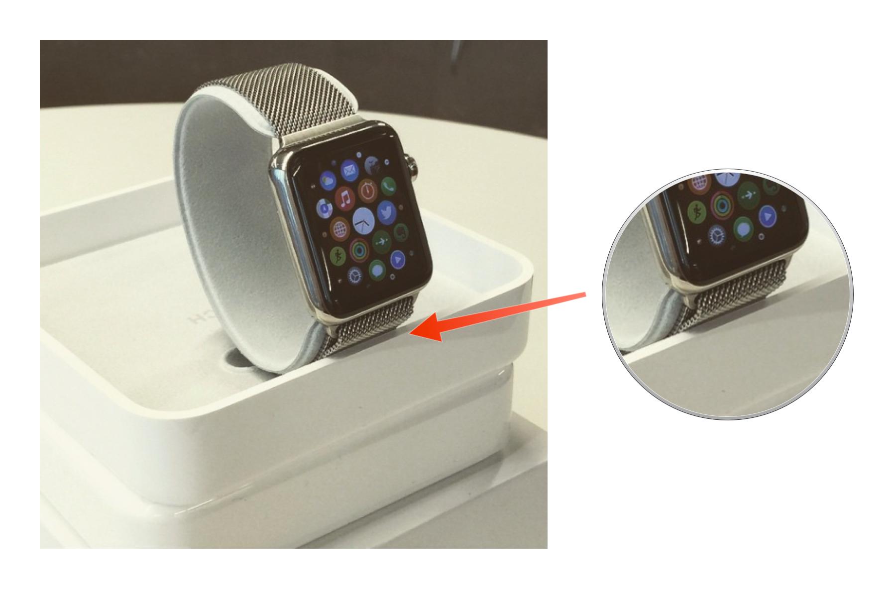 verpackung der apple watch gesichtet. Black Bedroom Furniture Sets. Home Design Ideas