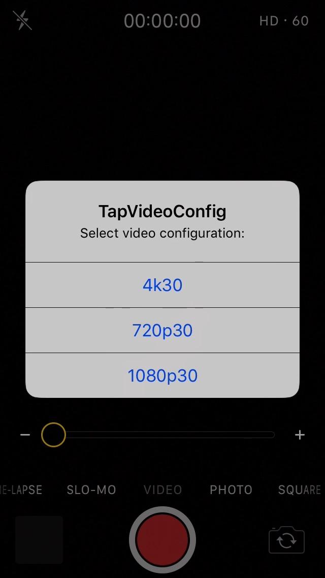 TapVideoConfig-tapvideoconfig-screenshot.jpg