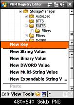 Wie editiere ich bei Windows Mobile die Registry-screen16.png
